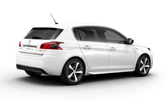 peugeot 308 gt line 1 5 bluehdi 130 s s eat8 priscar. Black Bedroom Furniture Sets. Home Design Ideas