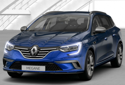 Photo Renault Megane 4 Estate GT Line Blue Dci 115