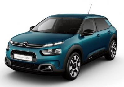 Photo Citroën C4 Cactus Shine BlueHDI 100 S&S