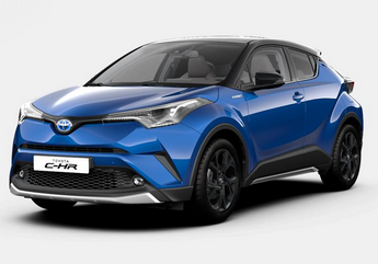 Photo Toyota C-HR Graphic avec options e-CVT 125 Hybrid 2WD