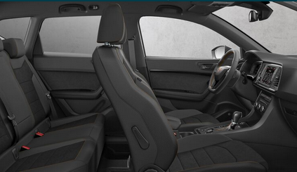 seat ateca cupra 2 0 tsi 300 dsg7 4drive priscar. Black Bedroom Furniture Sets. Home Design Ideas