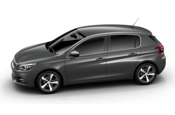 photo Peugeot 308 Allure 1.5 BlueHDI 130 S&S EAT8
