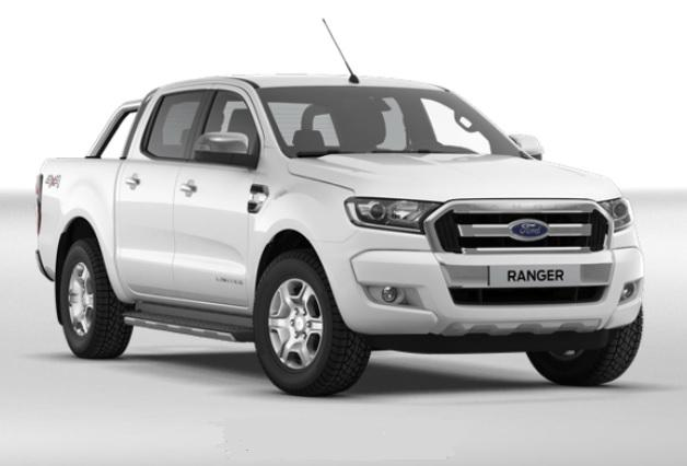 photo Ford Ranger Double Cabine XLT Limited Tdci 170 4x4 BVA