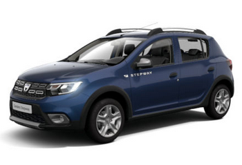 Photo Dacia Sandero Stepway Blue Dci 95