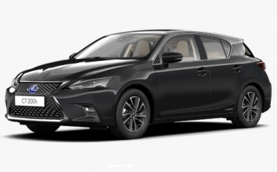 Photo Lexus CT 200H Black & Grey 1.8 e-CVT 136