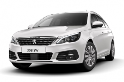 Photo Peugeot 308 SW Allure Pack 1.5 Blue HDI 130 S&S EAT8