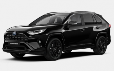 Photo Toyota RAV 4 Black Edition 2.5 e-CVT 218 Hybrid 2WD
