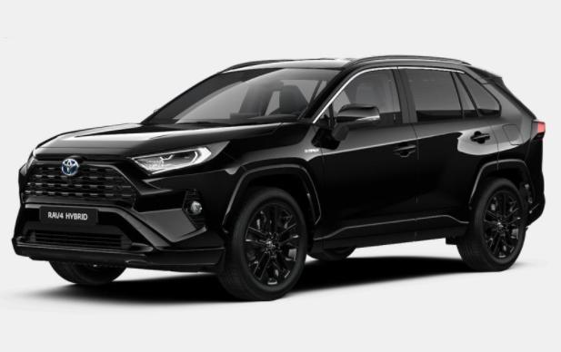 photo Toyota RAV 4 Black Edition 2.5 e-CVT 222 Hybrid 4WD