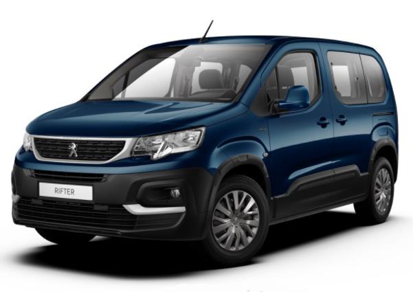 photo Peugeot Rifter Style 1.5 Blue HDI 100 S&S